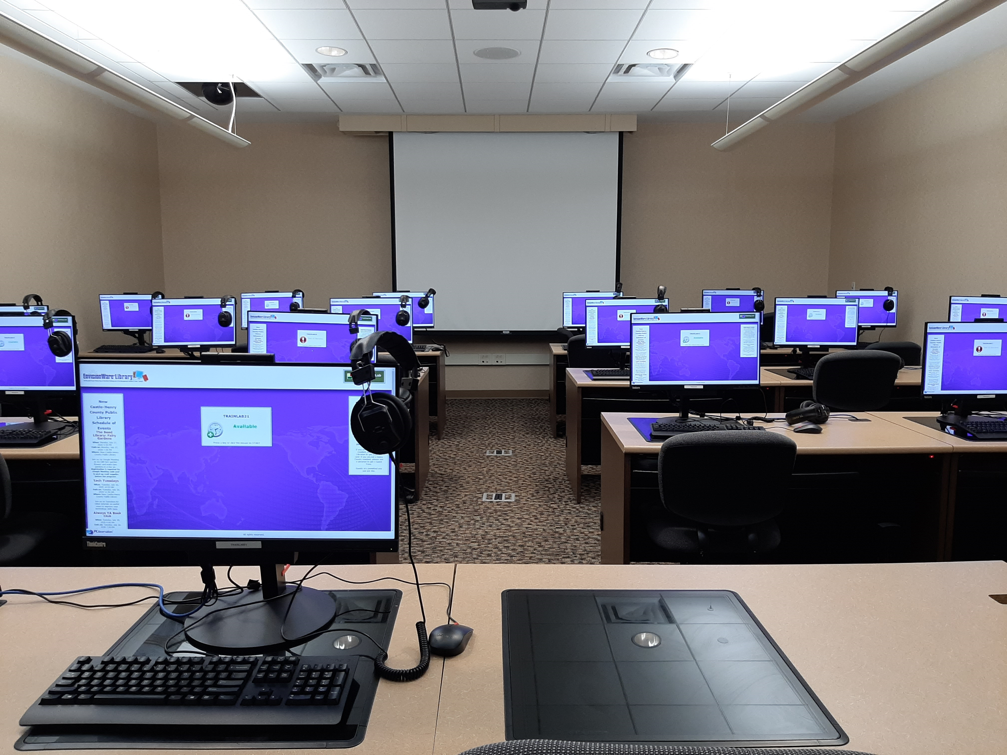 Computer Training Lab