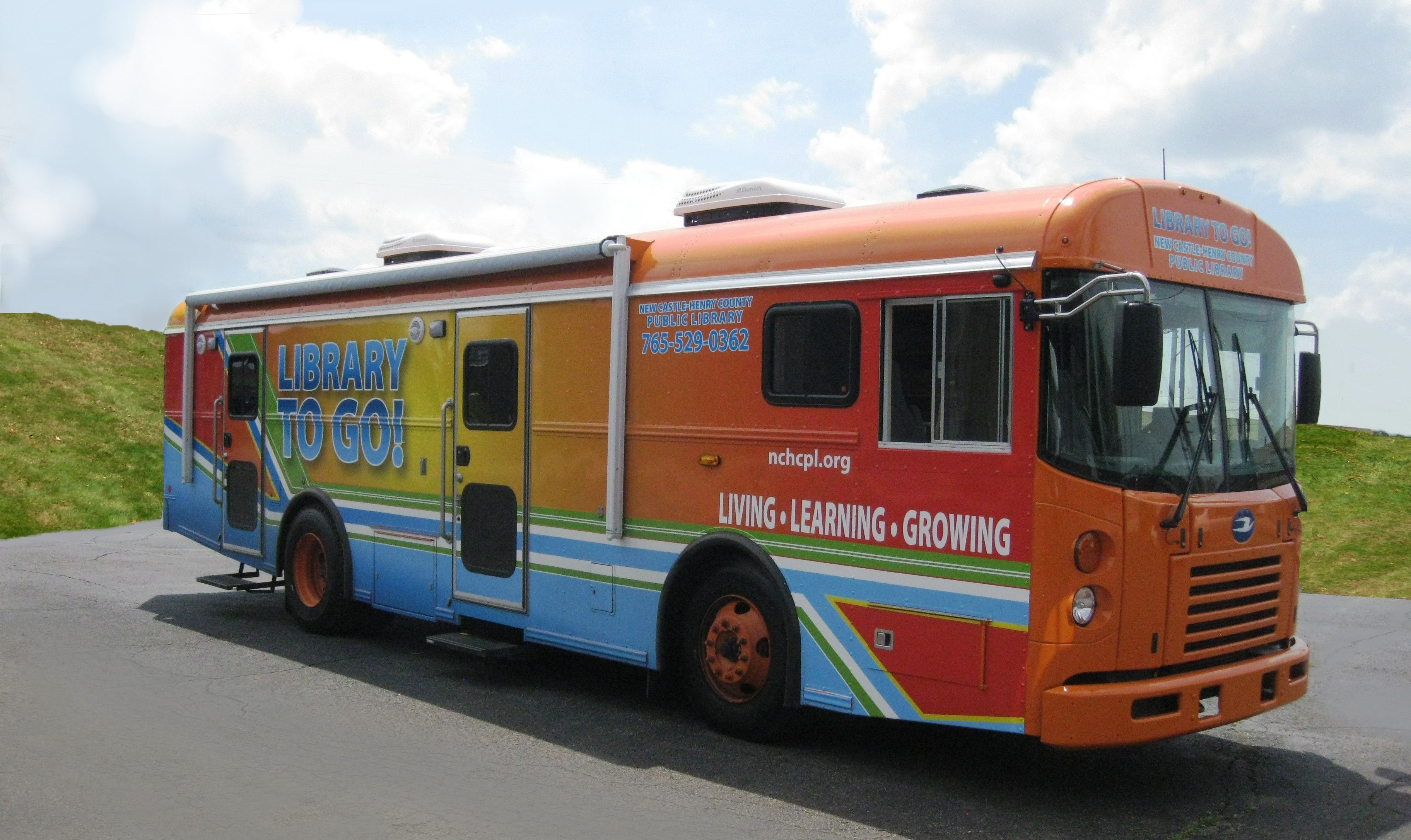 Picture of the Bookmobile