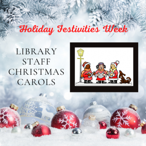 Library Staff Christmas Carols